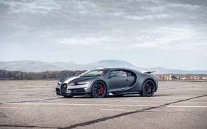 Картинка Bugatti, Les, Chiron, Legendes, du Ciel