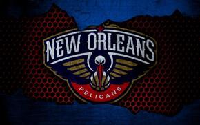 Картинка wallpaper, sport, logo, basketball, NBA, New Orleans Pelicans