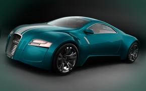 Картинка авто, фон, Audi