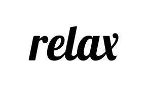 Картинка буквы, relax, слово
