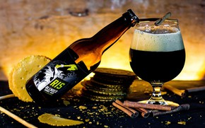 Картинка пена, бокал, пиво, напиток, бренд