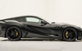 Картинка Ferrari, суперкар, вид сбоку, Mansory, Superfast, 812, 2019, Stallone Black