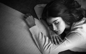 Картинка девушка, dream, сон, girl, Heru Sungkono