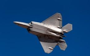 Картинка оружие, самолёт, F22A Raptor