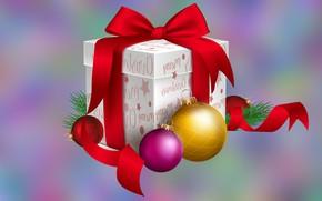 Картинка Boże Narodzenie, Bombki, Prezent