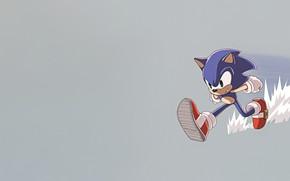 Картинка Соник, Ёжик, Art, Speed, Style, Sonic, Characters, Ёж Соник, Creatures, by Louie Patlingrao, Louie Patlingrao