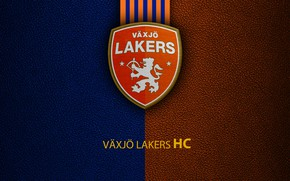 Картинка wallpaper, sport, logo, hockey, Vaxjo Lakers