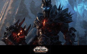 Картинка Lich King, Blizzard Entertainment, World Of Warcraft, Король-лич, Highlord Bolvar Fordragon, Высший Лорд Болвар Фордрагон, …