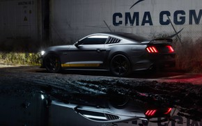 Картинка фары, Ford, Supercharged, Mustang GT, 700hp, 2019, by Dennis Ardel