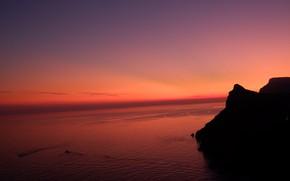 Картинка закат, крым, russia, Балаклава, sunrice