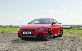 Картинка Audi, Красный, Coupe, RS, TT