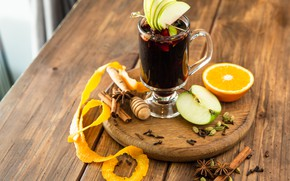 Картинка Яблоко, Напиток, цитрус