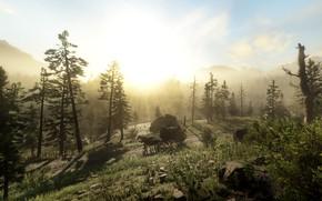 Картинка пейзаж, игра, Red Dead Redemption II