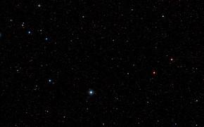 Картинка Digitized Sky Survey 2, Constellation Aquarius, Wide-field view, LAB1, Lyman-alpha blob