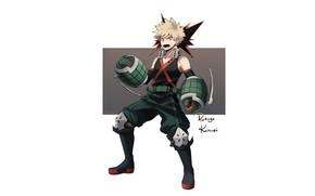 Картинка My Hero Academia, Boku No Hero Academia, Bakugou Katsuki, Моя Геройская Академия, Бакуго Катсуки