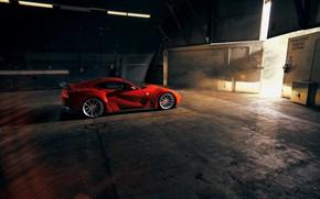 Картинка ангар, фонари, Ferrari, спорткар, Superfast, 812, Novitec N-Largo