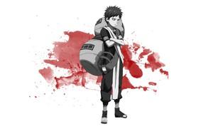 Картинка Аниме, Наруто, Naruto, Гаара, Gaara