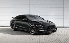 Картинка Mercedes, black, AMG, tuning, E63, TopCar, Mercedes E63 AMG, Mercedes-Benz E63 AMG GT