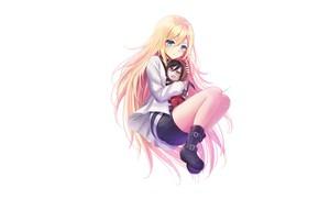 Картинка девушка, игрушка, Ангел кровопролития, Satsuriku no Tenshi