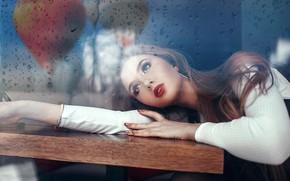 Картинка поза, Девушка, лежит, Саша Руских, Катя Григорьева
