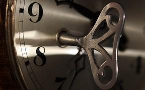 Картинка время, часы, ключ