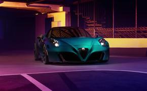 Картинка Alfa Romeo, Zeus, Alfa Romeo 4C, Pogea Racing, 2019