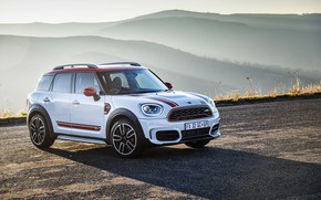 Обои Mini, Countryman, 2018, John Cooper Works