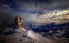 Картинка горы, Италия, курорт, Доломиты, Кортина-д'Ампеццо