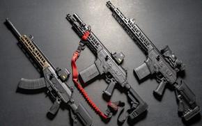 Обои оружие, Автомат, Gun, weapon, кастом, Custom, Штурмовая винтовка, Assault Rifle, Galil, Галил