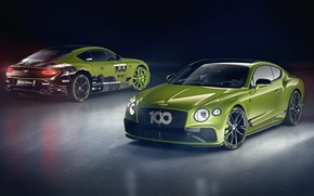 Картинка Bentley, пара, Continental GT, Limited Edition, Pikes Peak, 2020