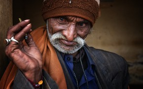 Картинка man, portrait, india, gujarat
