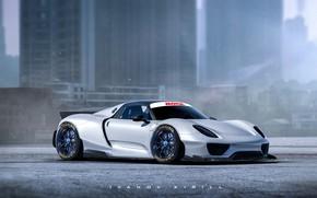 Картинка Concept, Porsche, Тюнинг, Порше, Art, Tuning, Porsche 918, Порше 918