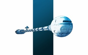 Картинка Корабль, Космический Корабль, Discovery, Фантастика, Fiction, Транспорт, GrahamTG, Spaceship, Transport, by Graham Gazzard, Graham Gazzard, …
