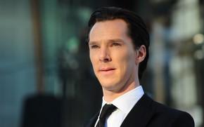 Картинка взгляд, фон, портрет, актёр, пиджак, Бенедикт Камбербэтч, Benedict Cumberbatch