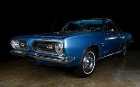 Картинка Classic, Coupe, Plymouth, Plymouth Barracuda