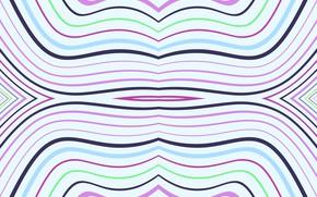 Картинка линии, фон, цветные, светлый