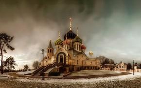 Картинка зима, церковь, храм, St. Igor Of Chernigov