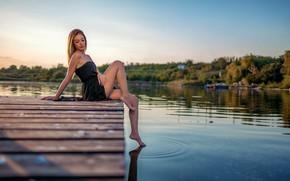Картинка water, model, pretty, feet, Деян Романов