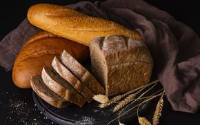 Картинка хлеб, нарезка, батон