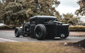 Картинка Ford, Black, Custom, Model A
