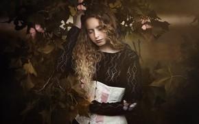 Картинка природа, девочка, Paola