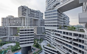 Картинка singapore, building, the interlace