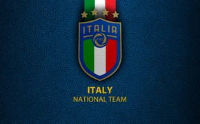 Картинка wallpaper, sport, logo, Italy, football, National team