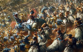 Картинка Warhammer, Games Workshop, Alforsten, Stanton Feng, Настольный варгейм