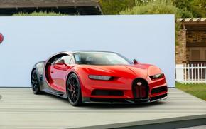 Картинка red, bugatti, black, chiron
