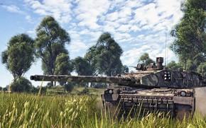 Картинка French, War thunder, WarThunder, AMX_40