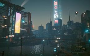 Картинка Cyberpunk 2077, CDPR, NightCity