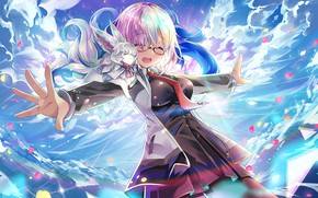 Картинка девушка, зверёк, Fate / Grand Order