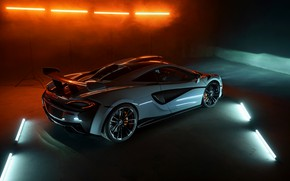 Картинка McLaren, антикрыло, Novitec, 2020, 620R