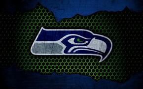 Картинка wallpaper, sport, logo, NFL, american football, Seattle Seahawks